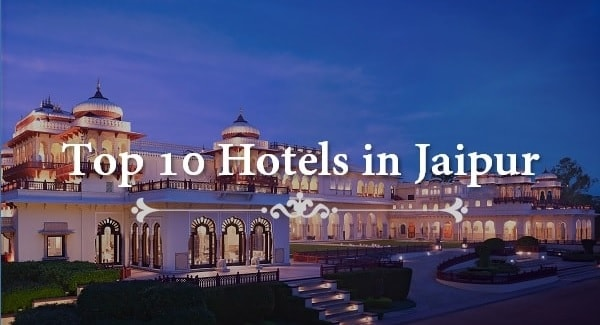 top hotels jaipur