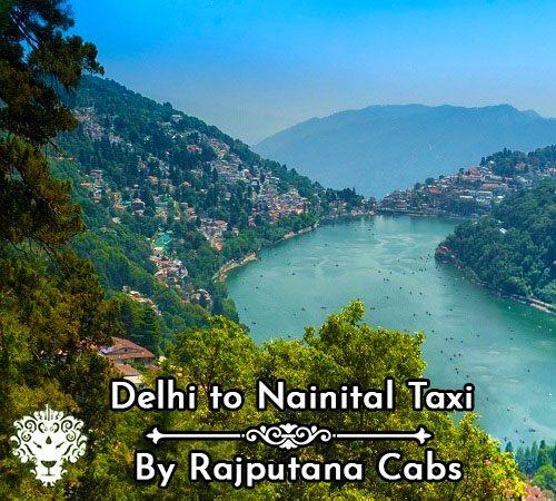 Delhi to Nainital taxi