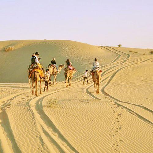 Sam sand dunes Jaisalmer RJ