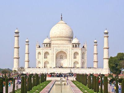 Taj Mahal at Agra UP