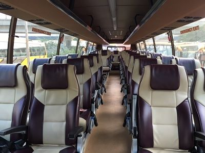 41 seater bus seats