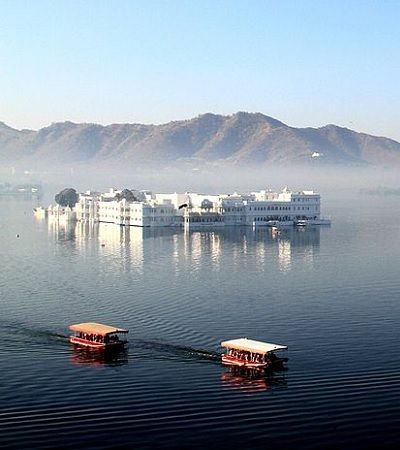 Lake Palace Udaipur view