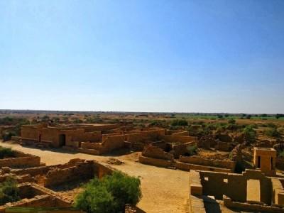 Kuldhara village Jaisalmer rj