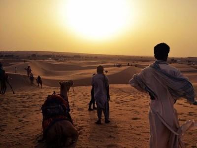 sunset point at sam jaisalmer rj
