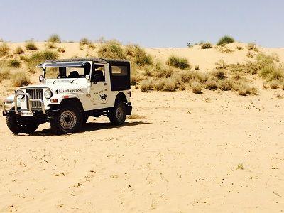 jeep safari bikaner