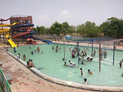 Hotel Mauj Mahal Jaipur pool