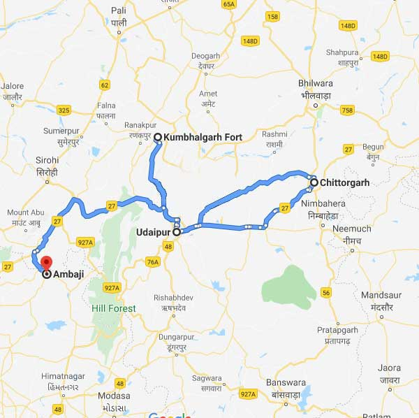 Day trips from Udaipur